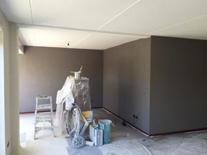Woonkamer muren in kleur